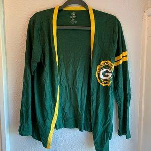 Green Bay Packers Women's Cardigan